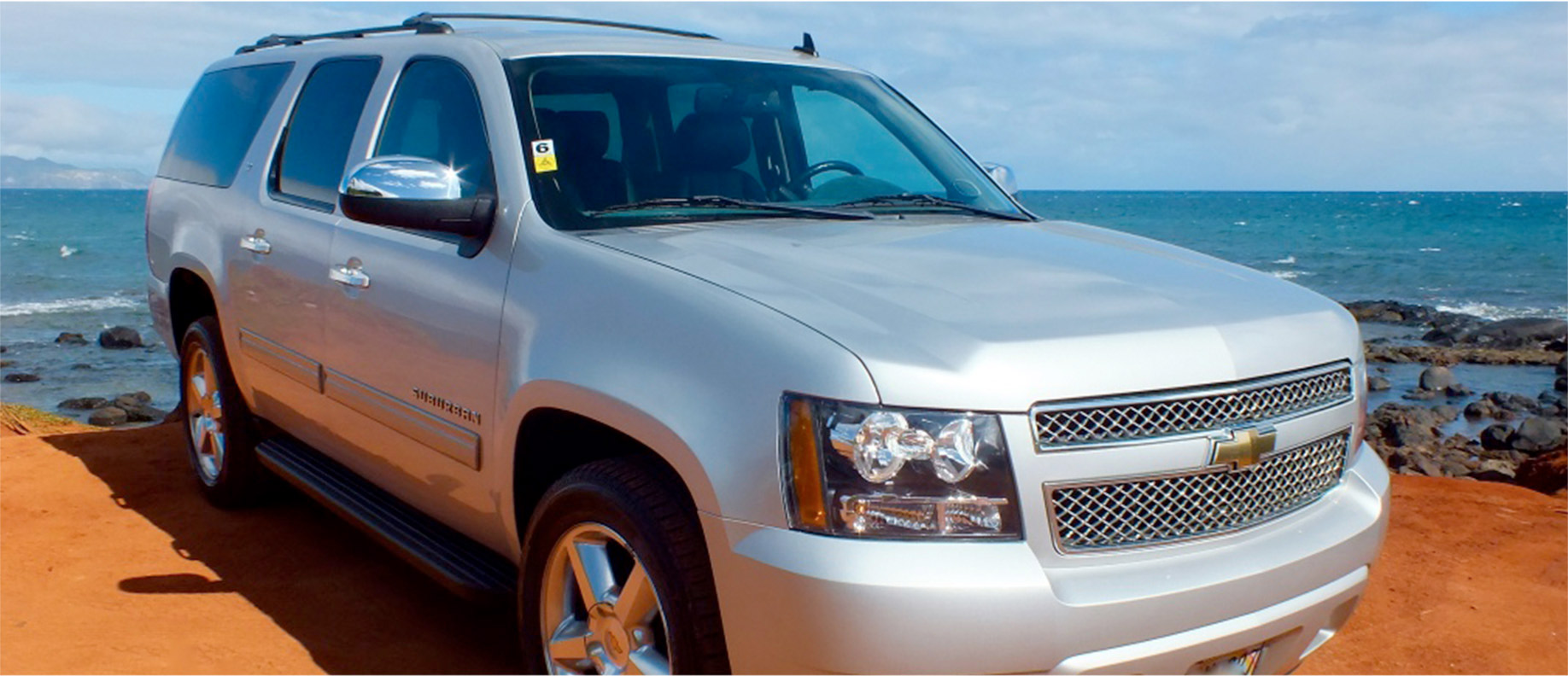 Hire a Luxury SUV and Driver on Maui